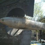 Submarine sculpture